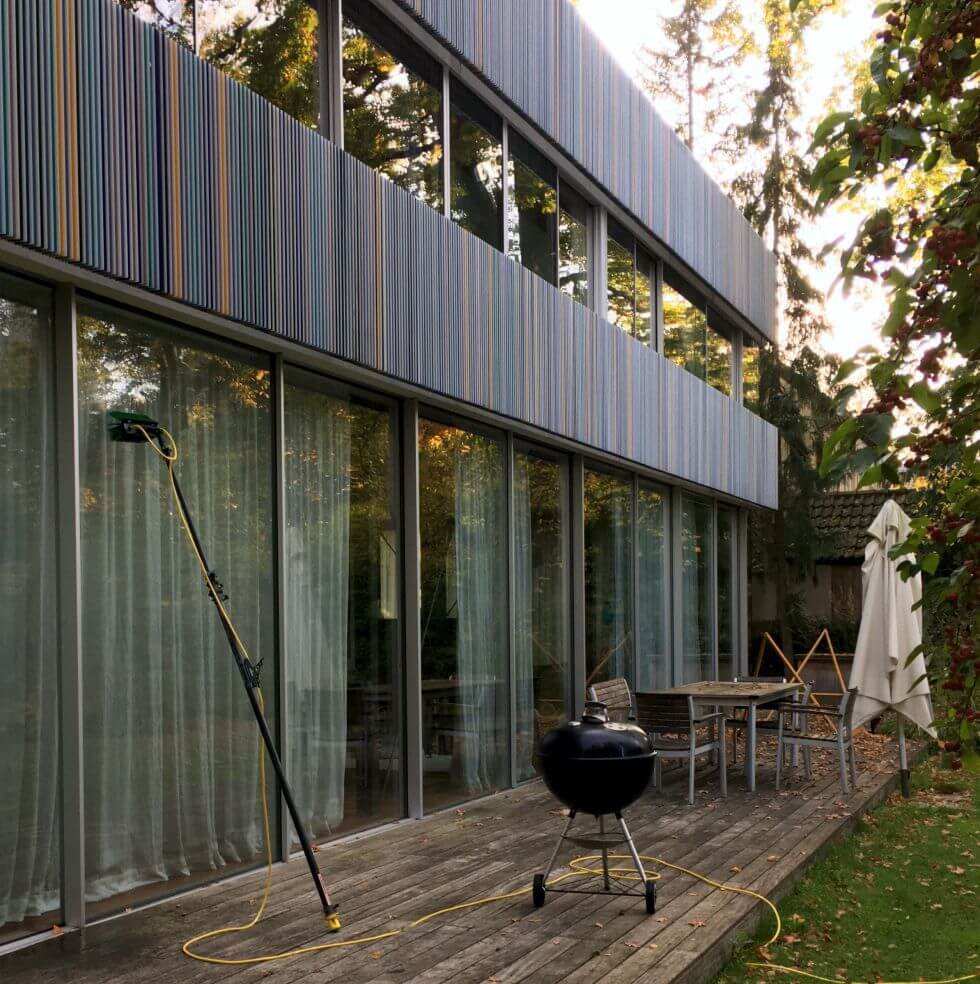 Fensterreinigung in Privathaushalt