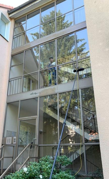 Glasfassaden-Reinigung