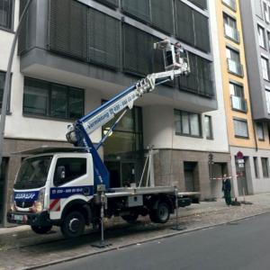 Arbeiten mit Hub- Arbeitbühnen